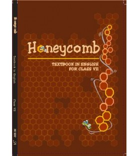 Honey Comb English Book for class 7 Published by NCERT of UPMSP