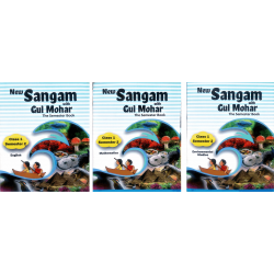 Class - 1 Sem - II - English, Maths & EVS New Sangam with