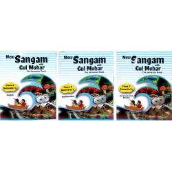 Class - 2 Sem - I - English, Maths & EVS New Sangam with