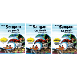 Class - 2 Sem - II - English, Maths & EVS New Sangam with