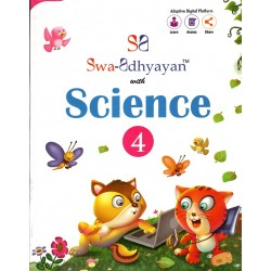 Swa-Adhyayan With Science-4 Class 4 with digital version