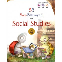 Swa-Adhyayan With Social Studies-4 Class 4 with digital