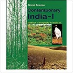 Geography- Contemporary India-1 NCERT Book for Class IX