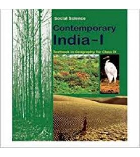 Geography- Contemporary India-1 NCERT Book for Class 9