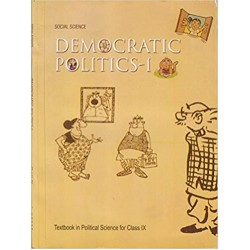 Civics- Democratic Politics- 1 NCERT Book for Class IX