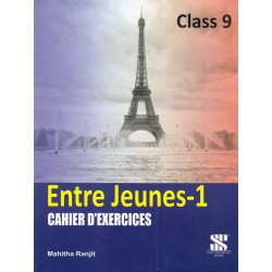 French- Entre Jeunes Cahier D'Exercices Class 9
