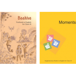 English-  Moments and Beehive NCERT Book for Class 9
