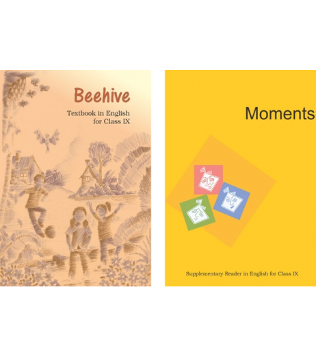English-  Moments & Beehive NCERT Book for Class IX