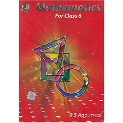 Maths- Mathematics By R.S.Aggarwal Class 6