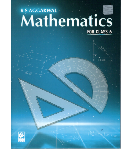 Mathematics for Class 6  R.S.Aggarwal 2021-22 edition
