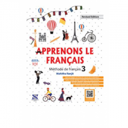 French- Apprenons Le Francais Methode de francais- 3  Class