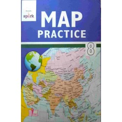 Social Science- MAP PRATICE Book Class 8