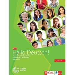 German-Hallo Deutsch- 3 Text book and Workbook 3