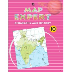 Map Expert Class 10 Geography and History Tarun Publication
