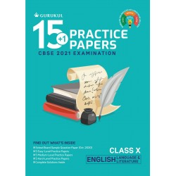 15+1 Practice Papers - English Language & Literature Class 11