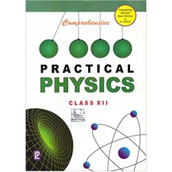 Comprehensive Practical Physics for Class 12  2020-21