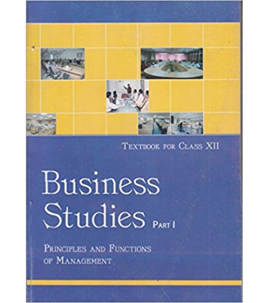 Business Studies Class 12 Ncert Book