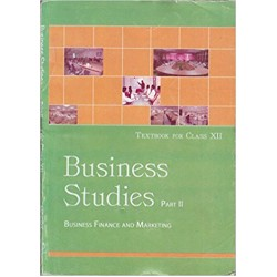 Business Studies-Business Finance & Marketing NCERT Book