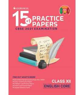 15+1 Practice Papers  English Class 12