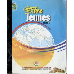 French-Entre Jeunes Book for Class-X