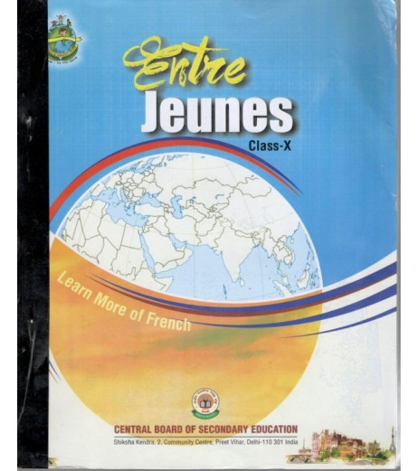 French-Entre Jeunes Book for Class 10