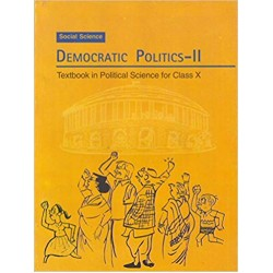 Civics- Democratic Politics-2 NCERT Book for Class- X