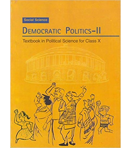 Civics- Democratic Politics-2 NCERT Book for Class 10