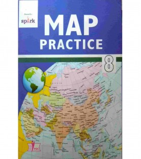 Social Science Map Practice Books Class 8