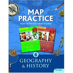 Social Science-Map Practice Book 6