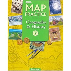 Social Science-Map Practice Book 7