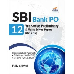 SBI Bank PO 12 Year-wise Preliminary and Mains Solved