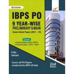 IBPS PO 9 Year-wise Preliminary and Main Exams Solved Papers (2011-19)