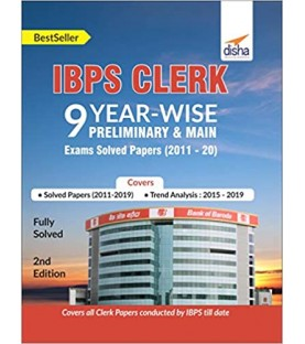 IBPS Clerk 9 Year-wise Preliminary and Main Exams Solved Papers (2011-20)