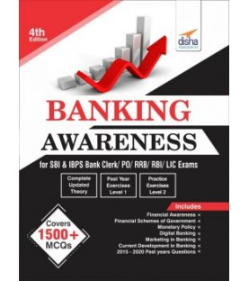Banking Awareness for SBI and IBPS Bank Clerk/ PO/ RRB/ RBI/ LIC exams 4th Edition