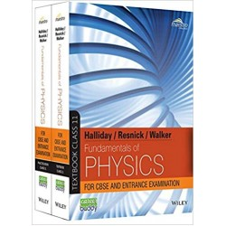 Fundamentals of Physics, Class 11, Set of Textbook and Practice Book