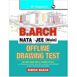 B. Arch/NATA/JEE (Main) Offline Drawing Test