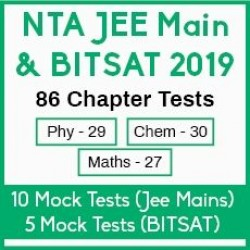 NTA JEE Main & BITSAT 2019 Success Test Series Package - 86