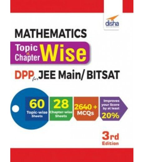 Math.Topic-wise and Chapter-wise Daily Practice Problem Sheets for JEE Main/ BITSAT