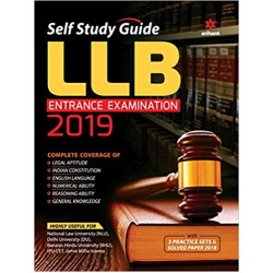 Self Study Guide for LLB Entrance Examination 2019