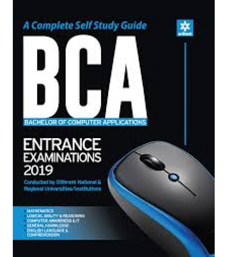 A Complete Self Study Guide BCA Entrance Examinations 2019