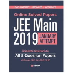 Solved Papers for JEE Main 2019