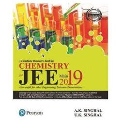 JEE Main for Chemistry 2019 : A complete Resource Book