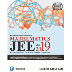 JEE Main for Mathematics 2019 : A complete Resource Book