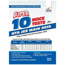 Super 10 Mock Tests for NTA JEE Main 2019