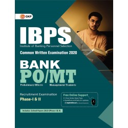 IBPS 2020 : Bank PO/MT Phase I and II - Guide
