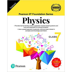 Pearson IIT Foundation Series Physics Class 7