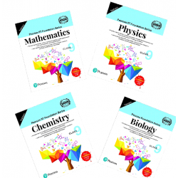 Pearson IIT Foundation series Combo Pack PCMB For Class 9