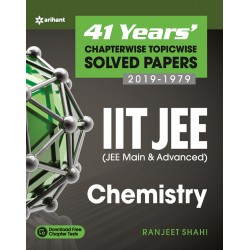 41 Years' Chapterwise Topicwise Solved Papers (2019-1979)