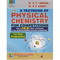 Textbook of Physics Chemistry for JEE Main & Adv.