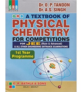 Textbook of Physics Chemistry for JEE Main and Adv.